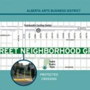 City puts marketing muscle behind marquee bike boulevard