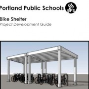Portland public school district offers guide for DIY bike shelters