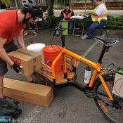 Cargo bikes reach new heights at 'Disaster Relief Trials'