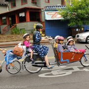 Emily 'six kids and no car' Finch's cargo bike stolen