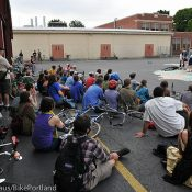 'Bicycle Snatchers' bike play takes theater to the streets
