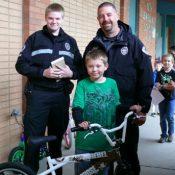 50 kids get free bikes thanks to Milwaukie Police Dept
