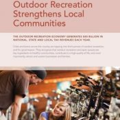 Outdoor Industry report says recreational cycling pumps $81 billion into U.S. economy each year