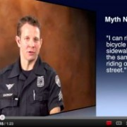 "New Portland Police Bureau videos aim to debunk ""traffic myths"""