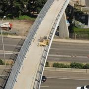 New Gibbs St Bridge over I-5 will open on July 14th