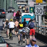 Blues Fest snarls bike traffic near Hawthorne Bridge