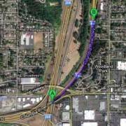 Metro approves $6 million for 1/2 mile of new lane on I-84 freeway