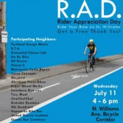 Williams Ave businesses plan bike commuter thank you event