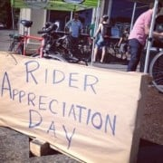 Williams Ave businesses show the love at first ever 'Rider Appreciation Day'