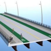 Sellwood Bridge plans finalized; County will use green concrete on bike lanes