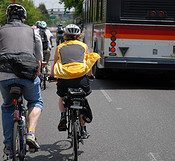 Blogging TriMet bus driver gives bike riders good report card