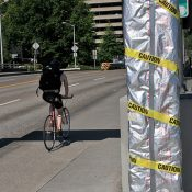 Bicycle counter to go live this week on Hawthorne Bridge