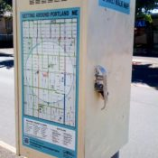 To encourage more riding, PBOT posts maps on bike boulevards
