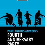 Portland Design Works 4th anniversary party tonight at Velo Cult