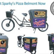 Check out Sparky's Pizza's new delivery vehicle