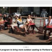 PBOT launches 'Street Seats' program