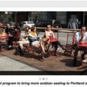 PBOT launches 'Street Seats' program