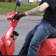 Red Honda Spree