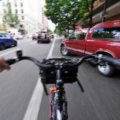 As Portland inches along, new research shows separated bike infrastructure is safer