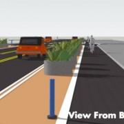 PBOT begins re-design of NE Multnomah; now with more protected bikeways