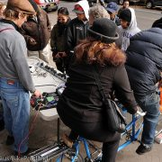 While Sandy recovery continues, signs of hope on two wheels