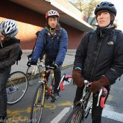 Riding along with Molly Fair, a first-time bike commuter in New York