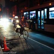 Commuting in the Manhattan blackout