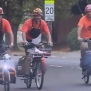 "KGW TV: ""Bikes can be a lifeline"" after disaster strikes"
