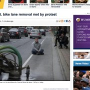 Protests in Toronto against bike lane removal (and why you should care)