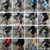 People on Bikes: Williamsburg Bridge, Manhattan