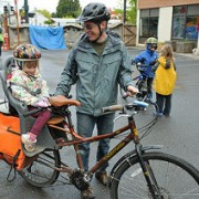 City reports double digit bike to school rates for first time ever