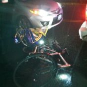 Man rear-ended while biking with child in trailer speaks out