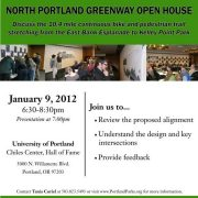 Open house coming up for North Portland Greenway project