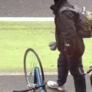 Is this guy a bike thief? Help us figure it out (Photos)