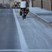 Reader story: The Tiniest Bright Spot (a poem about riding in January)
