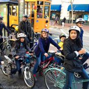 9 kids, 6 adults and a day on bikes in San Francisco
