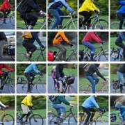 People on Bikes: In the cold in Ladd's Circle