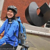 Riding along with Stasia Honnold: Clinton bikeway to the Oregon Zoo