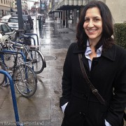 April Economides is bringing bicycling to businesses