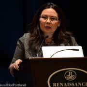 Inspiring words from Congresswoman, veteran, amputee, and bike rider Tammy Duckworth