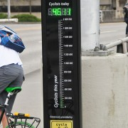 Hawthorne Bridge bike counter has logged over 1,000,000 trips since August
