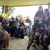 Community gathers to remember Kiki Larsen