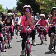 For girls on bikes, new research shows a turning point: age 14