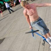 For Blake Hicks, bike tricks are ticket to the big time