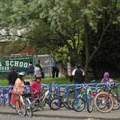 National Bike to School Day not that a big a deal in Portland
