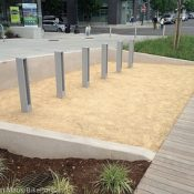 Those interesting bike racks at Portland's newest park