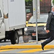As crosswalk enforcement decoy, Mayor Hales walks talk on traffic safety