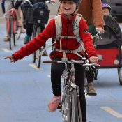 Kids are the true indicator species of a bike-friendly city
