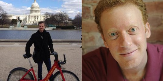 bikeshare experts Matt Christensen and Paul DeMaio
