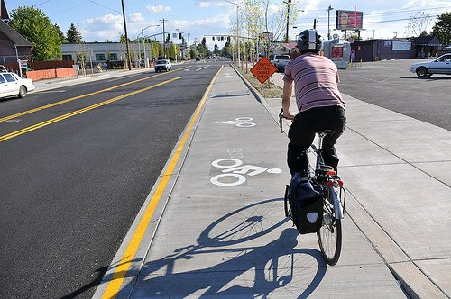 Cully Boulevard cycle track